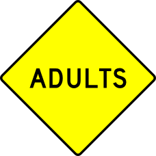 caution adults