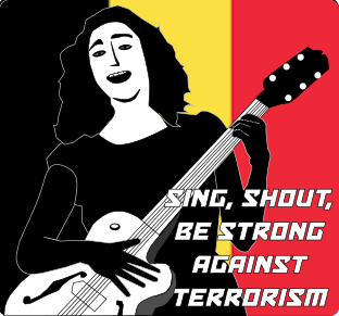 shout against terrorsim